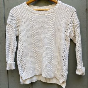 Madewell Cotton Blend Sweater